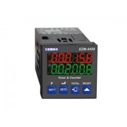 EZM-4450 multifunktsionaalne taimer ja loendur, 24AC/DC, 2 x relee 3A, RS-232 ModBus, IP65/20