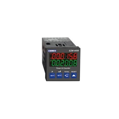 EZM-4450 multifunktsionaalne taimer ja loendur_ 24AC/DC_ 2 x relee 3A_ RS-232 ModBus_ IP65/20